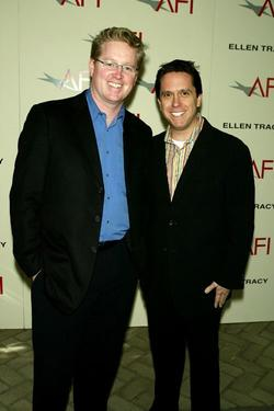 Andrew Stanton and Lee Unkrich at AFI&#39;s 2003 Awards Luncheon.